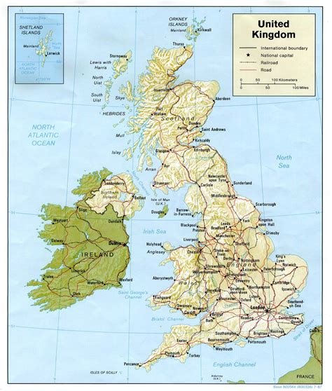 United Kingdom Maps - Perry-Castañeda Map Collection - UT ...