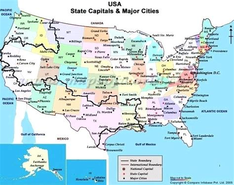 United States Map And Capitals Maps 5 Capital Ideas For ...