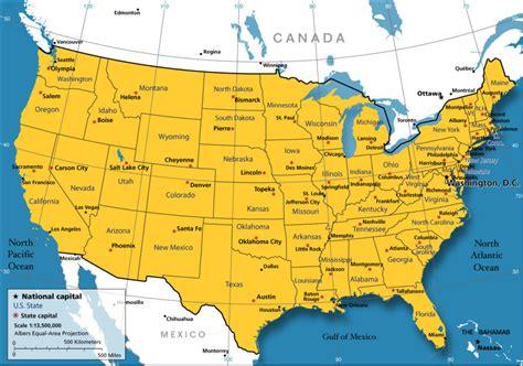 United States Maps | US Maps, United States Map, Map of ...