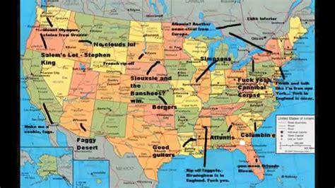 United States of America Map - YouTube