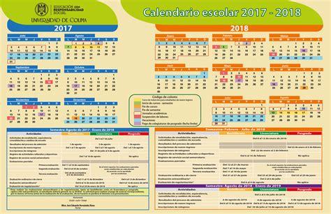 Universidad de Colima / Alumnos   Calendario escolar