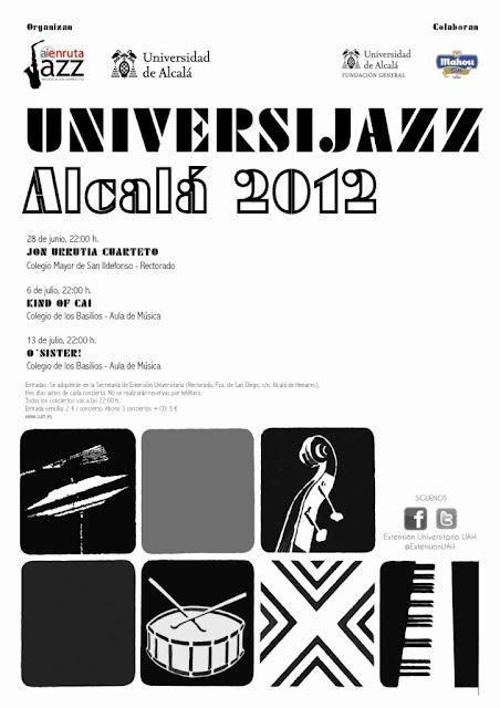 Universijazz Alcalá 2012 - Paperblog