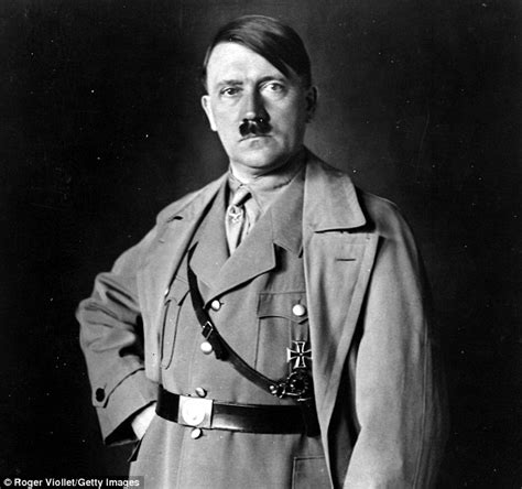 University of Erlangen find that Nazi leader Adolf Hitler ...
