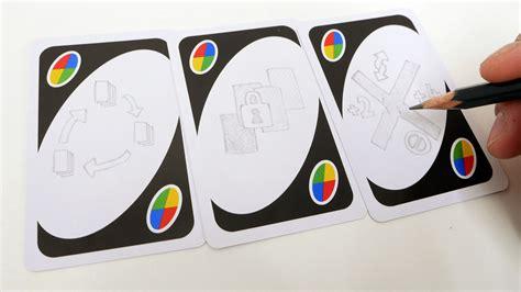 UNOに好きなオリジナルルールを増やせる「白いワイルドカード」が加わった新バージョンで遊んでみた   GIGAZINE