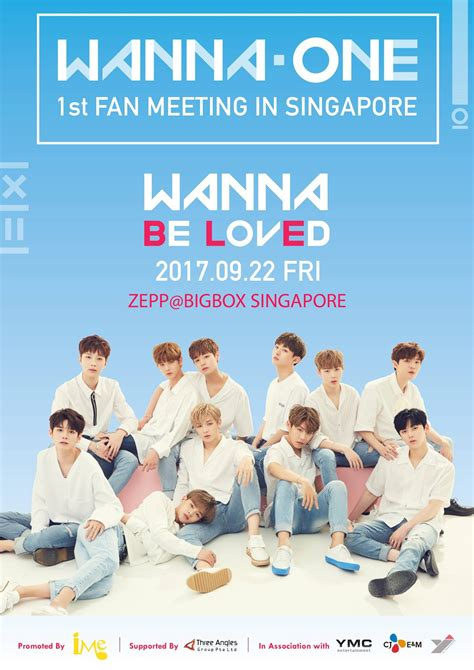 [UPCOMING EVENT] Wanna One Confirms First Fan Meeting In ...