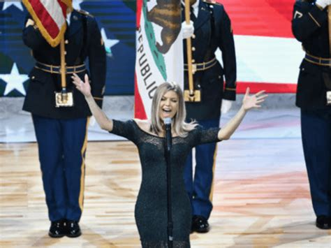 UPDATE: Fergie Botches National Anthem at NBA All-Star ...