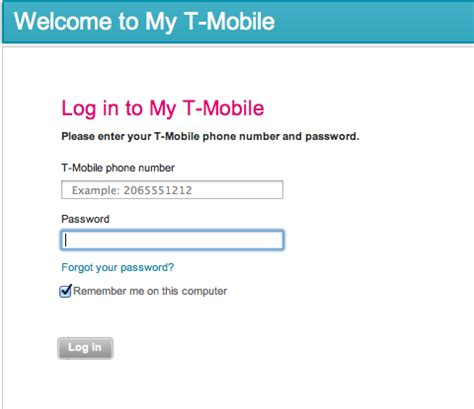 (Update) Numerous Reports Of My T-Mobile Login Troubles ...