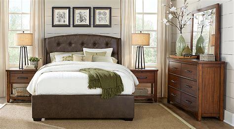 Urban Plains Brown 5 Pc King Upholstered Bedroom   King ...