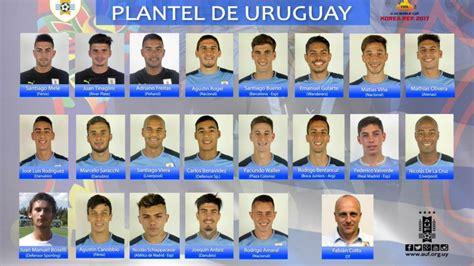 Uruguay anuncia los convocados para el Mundial Sub-20 - AS.com