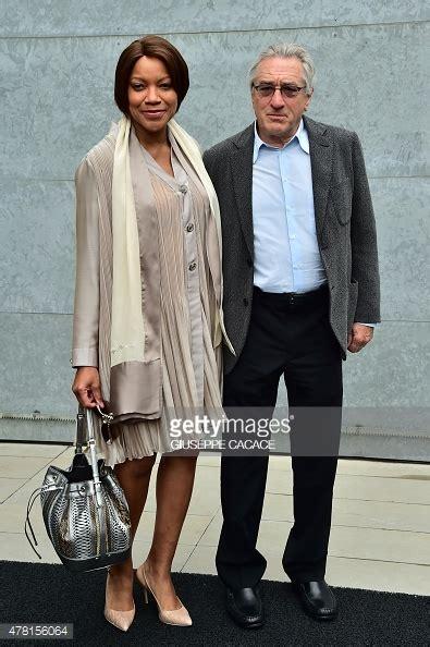 US actor Robert De Niro arrives with his wife Grace ...