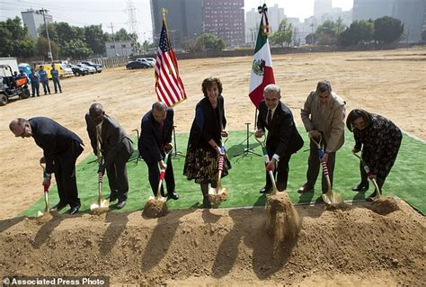 US breaks ground on new embassy in Mexican capital | Daily ...