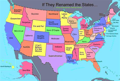 Us Map With Full State Names | Cdoovision.com