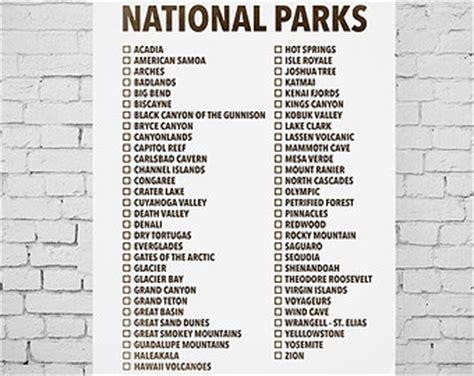 Us National Parks List - Bing images