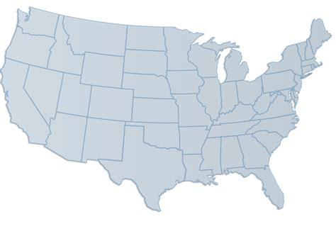 Us Political Map Grayscale | Cdoovision.com