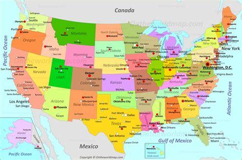 USA Maps | Maps of United States of America  USA, U.S.