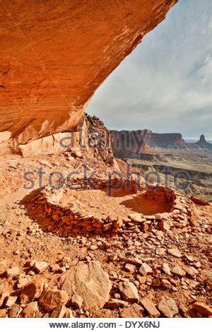 USA, Utah, Moab, Canyonlands National Park, Buck Canyon ...