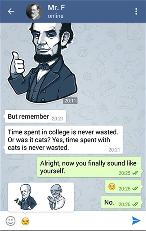 Usando Telegram y dándote cuenta que WhatsApp está en la ...