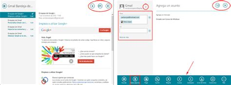 Usar en Windows 8 Gmail, Hotmail, Outlook y otros