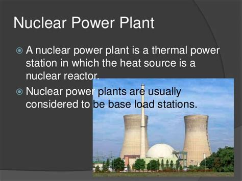 Use of nuclear power plants and weapons