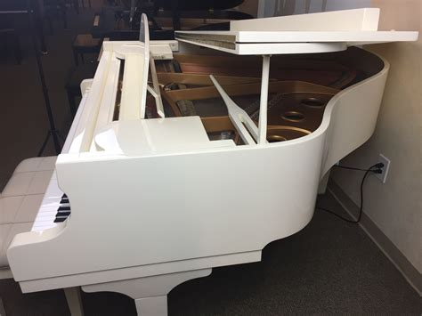 Used White Baby Grand Piano With PianoDisc and Free Music ...