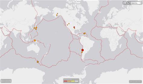 USGS: 19 de los 39 sismos perceptibles de hoy fueron en ...