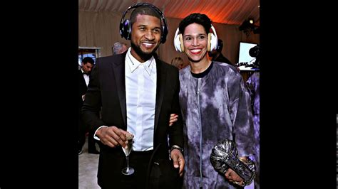 Usher and his wife Grace Miguel   YouTube