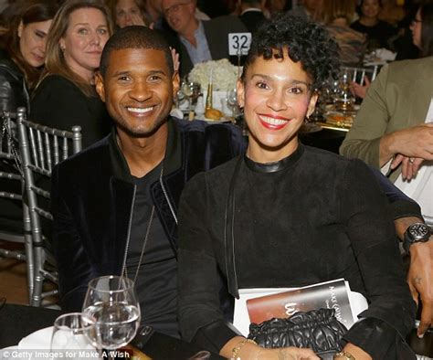 Usher and wife Grace Miguel announce split | Daily Mail Online