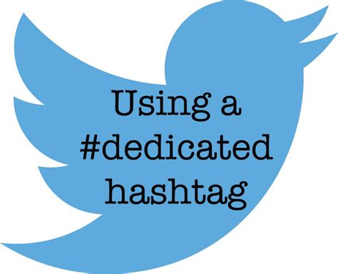 Using dedicated hashtags on Twitter | Ellen Eldridge
