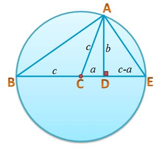 Using Similarity to Prove the Pythagorean Theorem