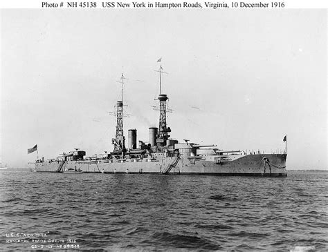 USS New York and other US warships, killed and died, 1914-1918