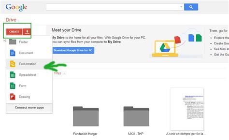 Utilizando Google Drive para hacer presentaciones | Thp