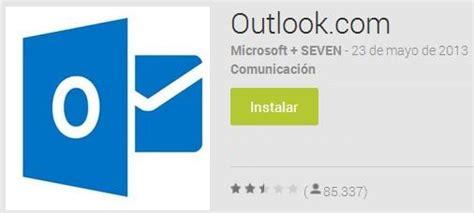 Utilizar Outlook desde Android | Trucos Outlook