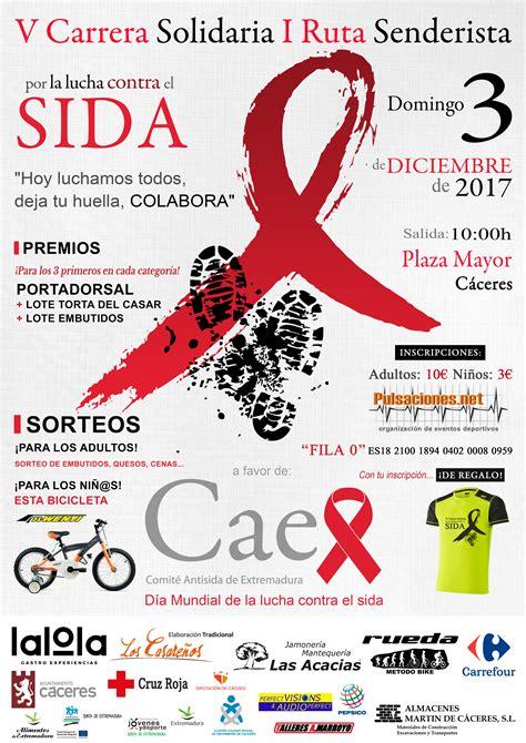 V Carrera Solidaria por la lucha contra el VIH-Sida | Caex ...