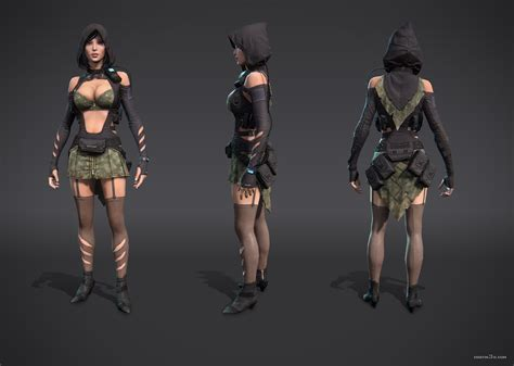 V Costin   Game Characters   3DTotal Forums