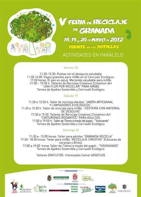 V Feria de Reciclaje de Granada