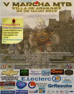 V Marcha MTB Villa de Aranjuez  > Aranjuez  Madrid
