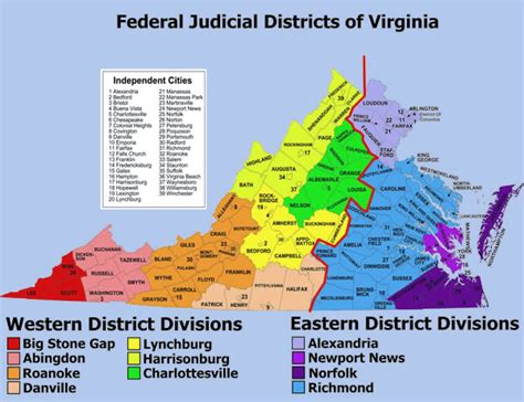 VA Federal Court System | District & Circuit Courts