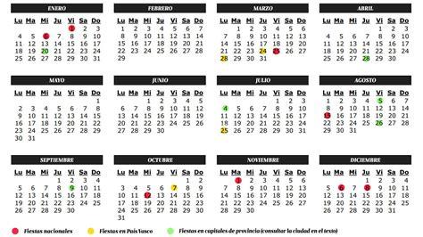 Vacaciones: Calendario de fiestas y laborables 2016 en ...