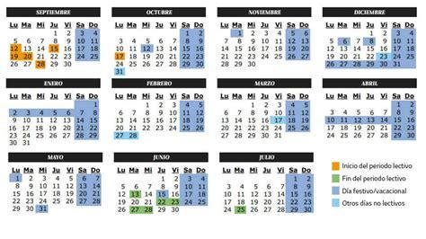 Vacaciones: Calendario del curso 2016 2017 en Castilla La ...