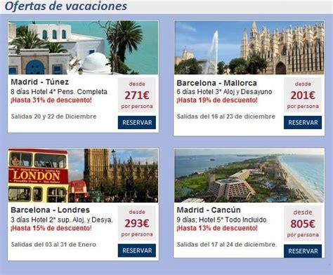 vacaciones ofertas de vacaciones halcon viajes ofertas de ...