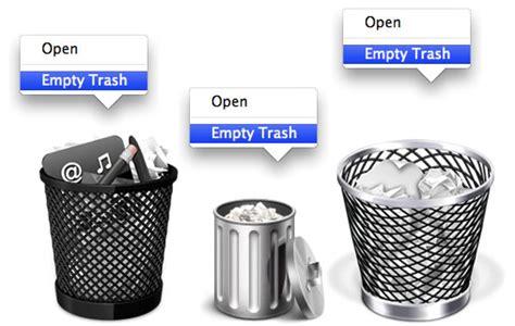 Vaciar la papelera de reciclaje | Soy Neurótico