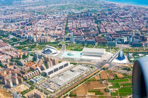 Valencia, España - 06 de julio de 2015: Vista aérea de la ...
