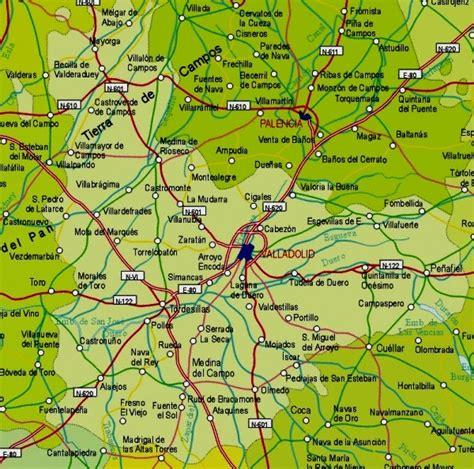 Valladolid Map