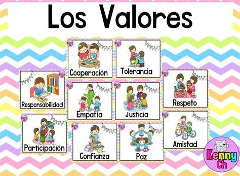 Valores | Material Educativo