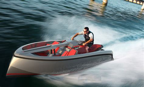 Vanqraft 16: Una moto de agua en forma de barco | A motor ...