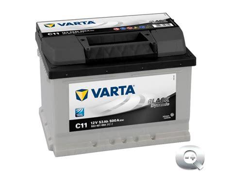 Varta C11 Black Dynamic 53 Ah - Venta online de baterías