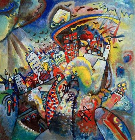 Vassily Kandinsky - Moscow I | Kandinsky | Pinterest ...