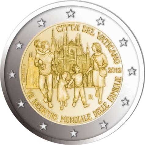Vatikan 2 Euro Gedenkmünzen - alle Ausgaben