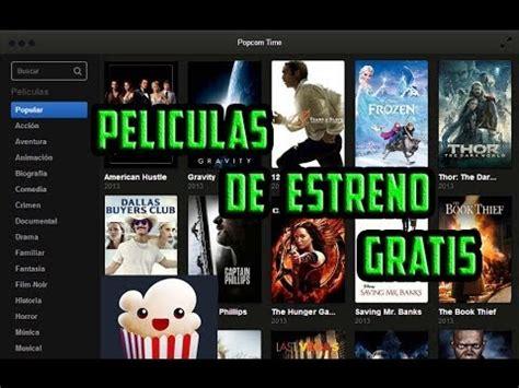 Ve Peliculas de estreno Gratis con Popcorn Time - YouTube