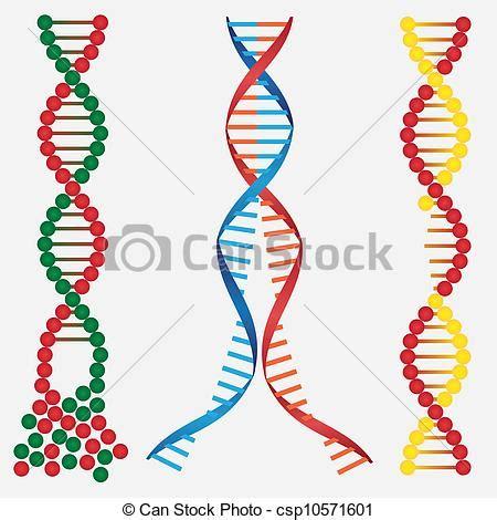 Vector Clip Art de dañado, ADN   Extracto, imágenes, de ...